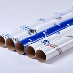 Custom printed mailing tubes